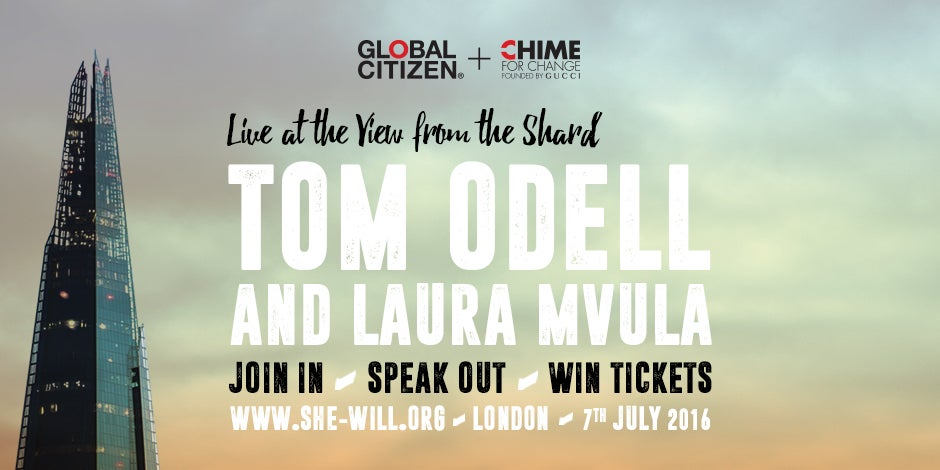 A VERY Special Guest Will Join Tom Odell's Show At The View From The Shard This Thursday