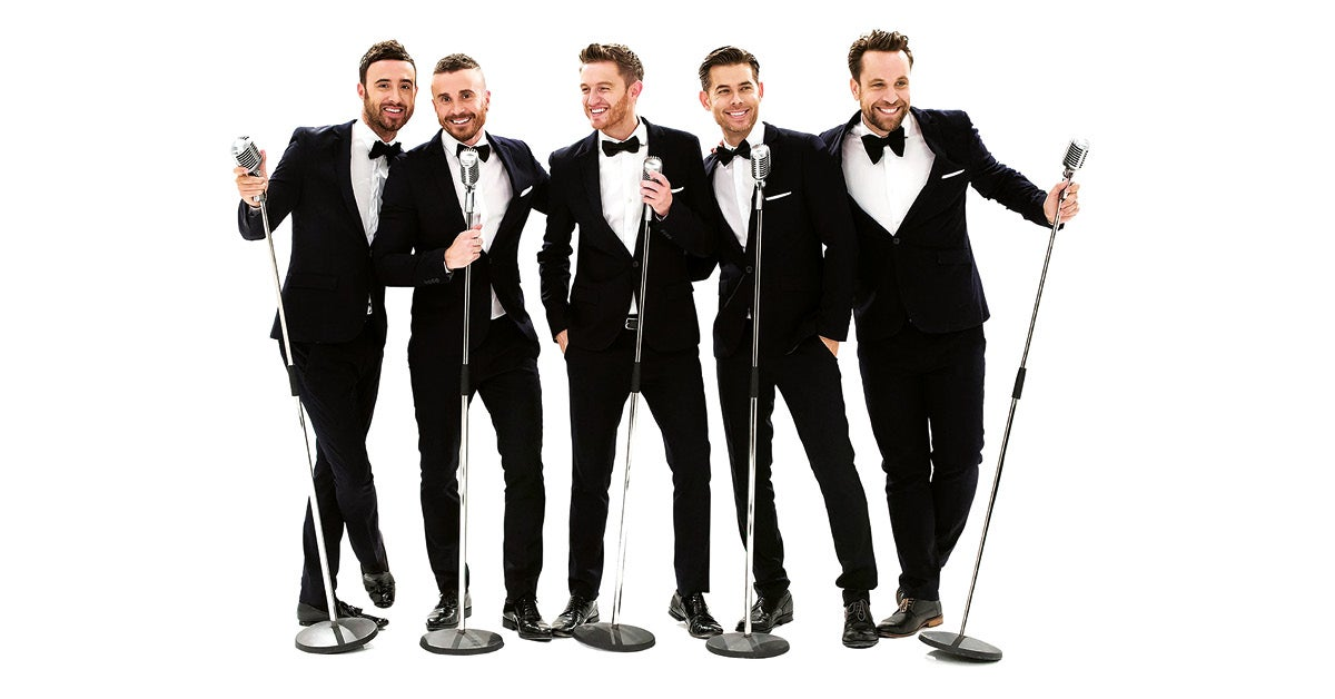The Overtones Pencil In 21-Date Christmas Mega Tour!