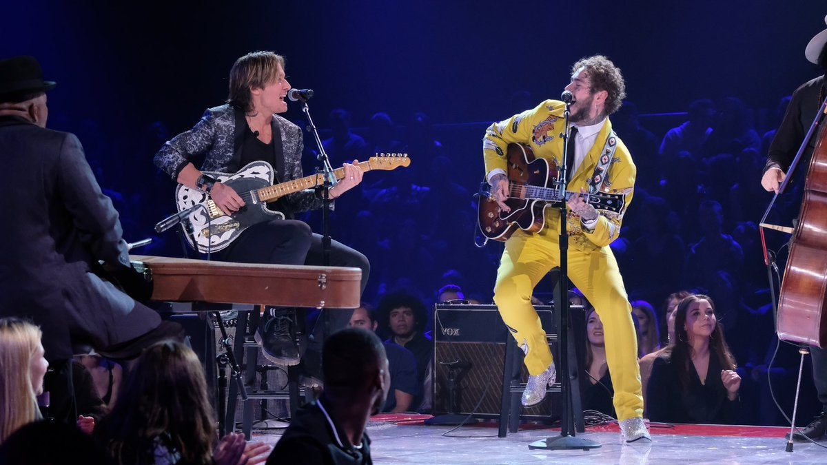 Post Malone + Keith Urban duet an Elvis classic