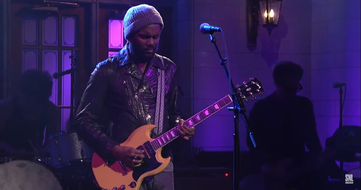Gary Clark Jr. performs on Saturday Night Live