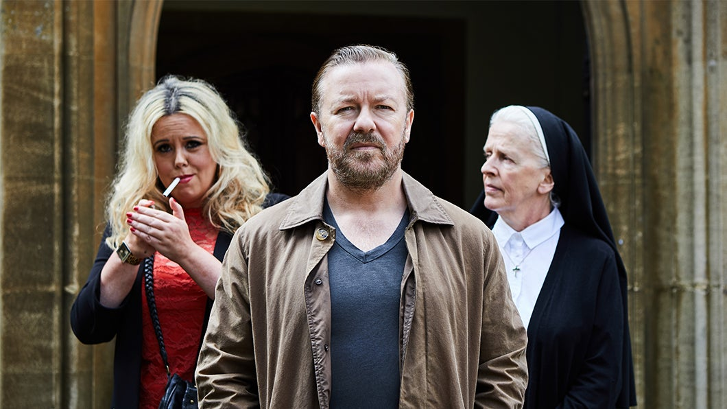 Ricky Gervais Returns To Netflix With 'After Life'!