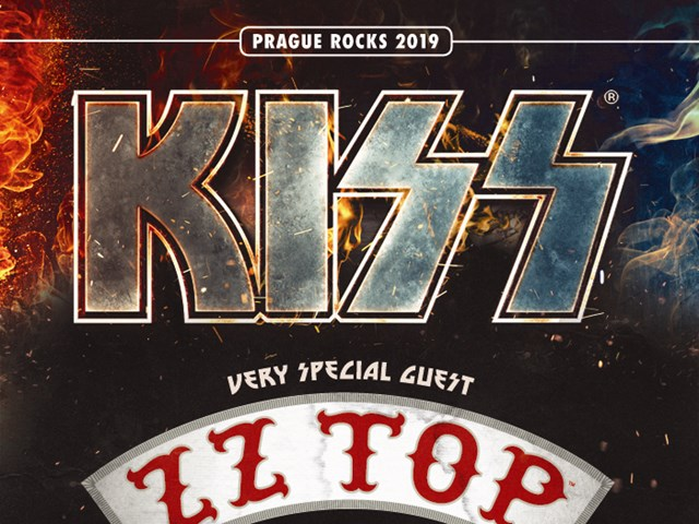 PRAGUE ROCKS 2019 přivítá KISS a ZZ TOP