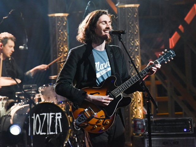 "HOZIER performs his new single ""Almost"" on The Late Show with Stephen Colbert."