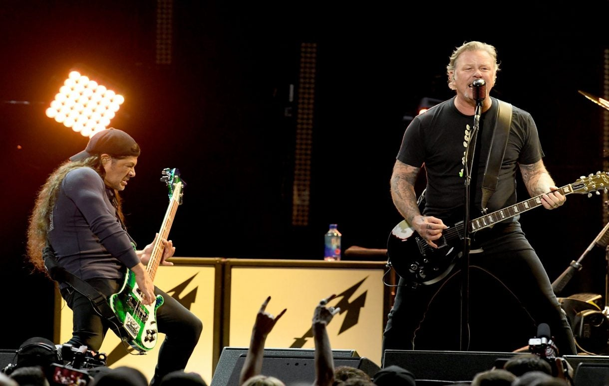 "Metallica have started ""jamming"" new material"
