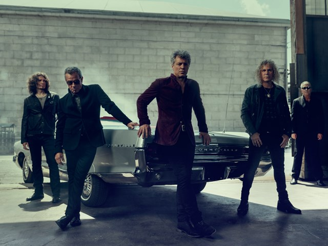 Bon Jovi calienta para el 'This House Is Not For Sale Tour'