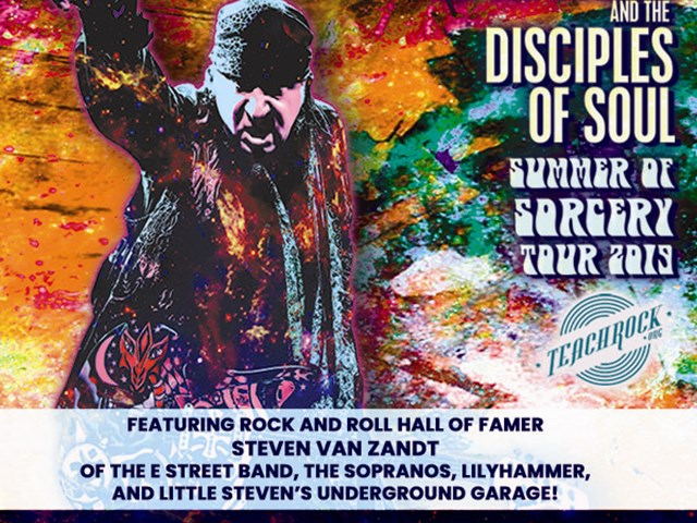 Little Steven & The Disciples of Soul VIP package