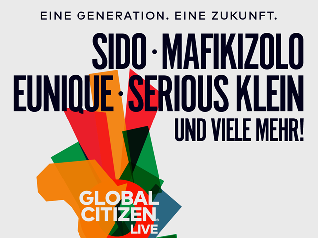 Global Citizen Live Berlin | 21.Mai
