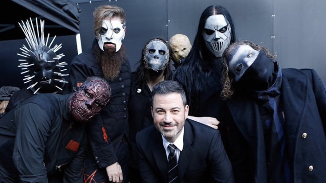 SLIPKNOT Live on Jimmey Kimmel and announce new album We Are Not