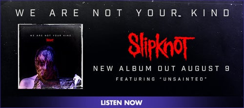 SLIPKNOT Live on Jimmy Kimmel and announce new album We Are Not Your
