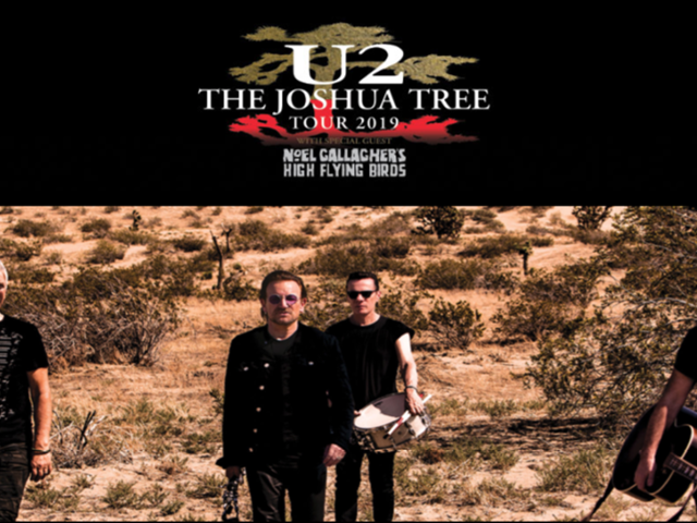 U2 'THE JOSHUA TREE TOUR 2019' :  FACT SHEET