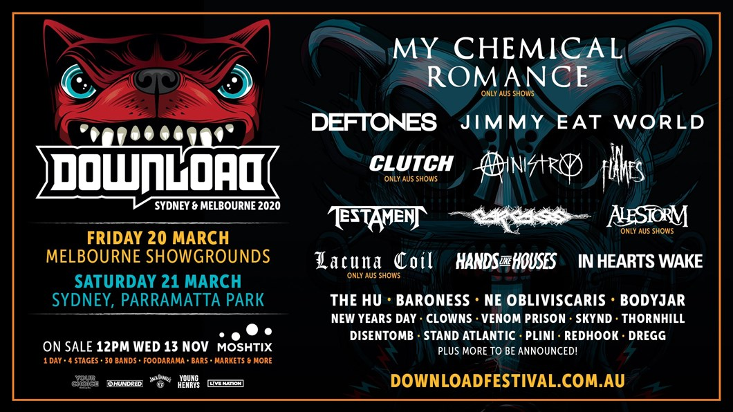 VIP EXPERIENCE: DOWNLOAD FESTIVAL 2020 | Live Nation TV