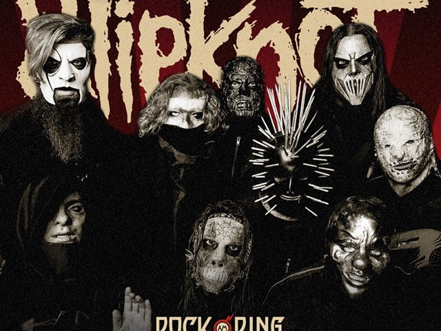 Slipknot Live fra Rock Am Ring søndag 9. juni