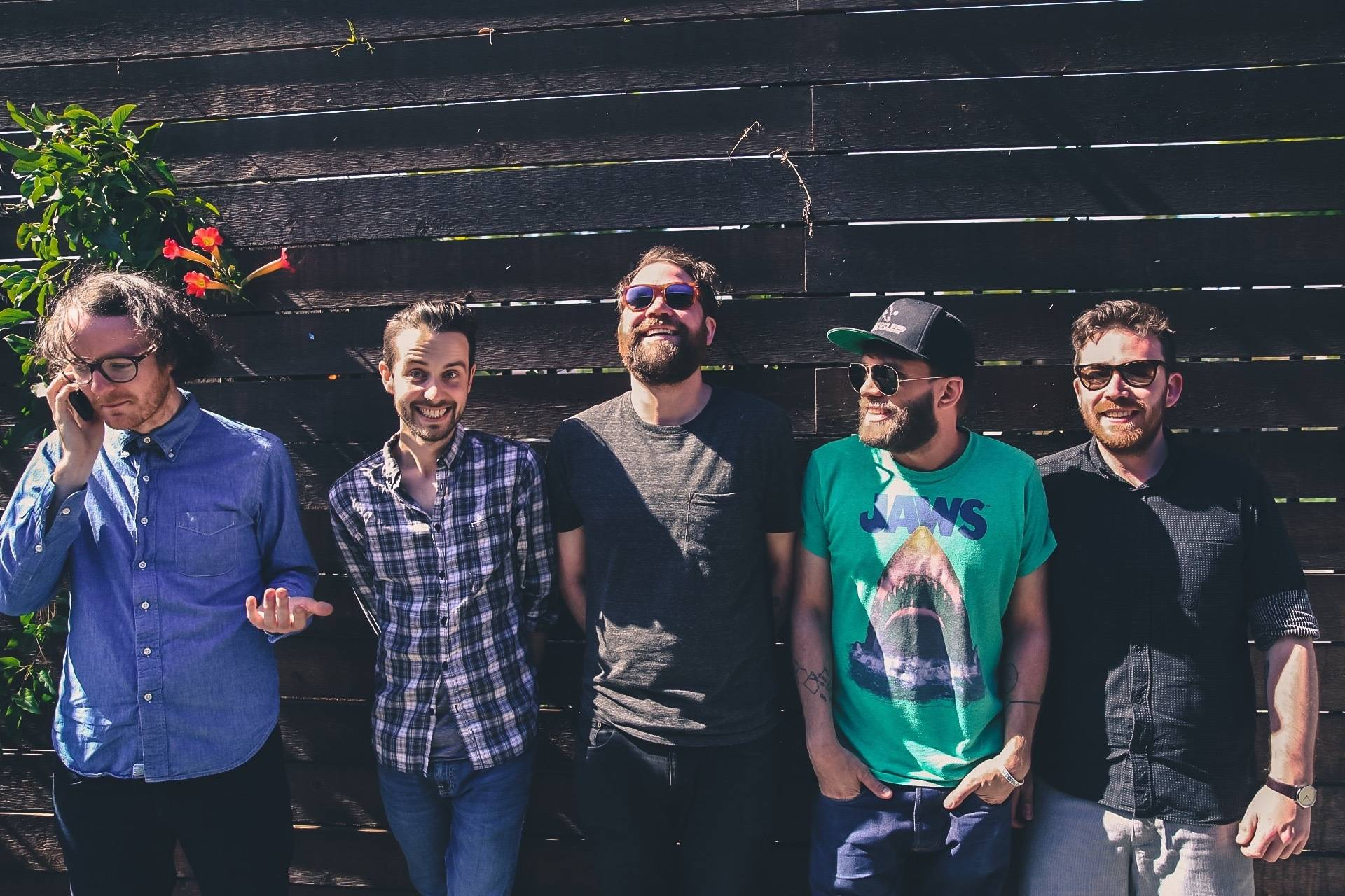 TAKE AN INTIMATE TRIP BACKSTAGE WITH FRIGHTENED RABBIT