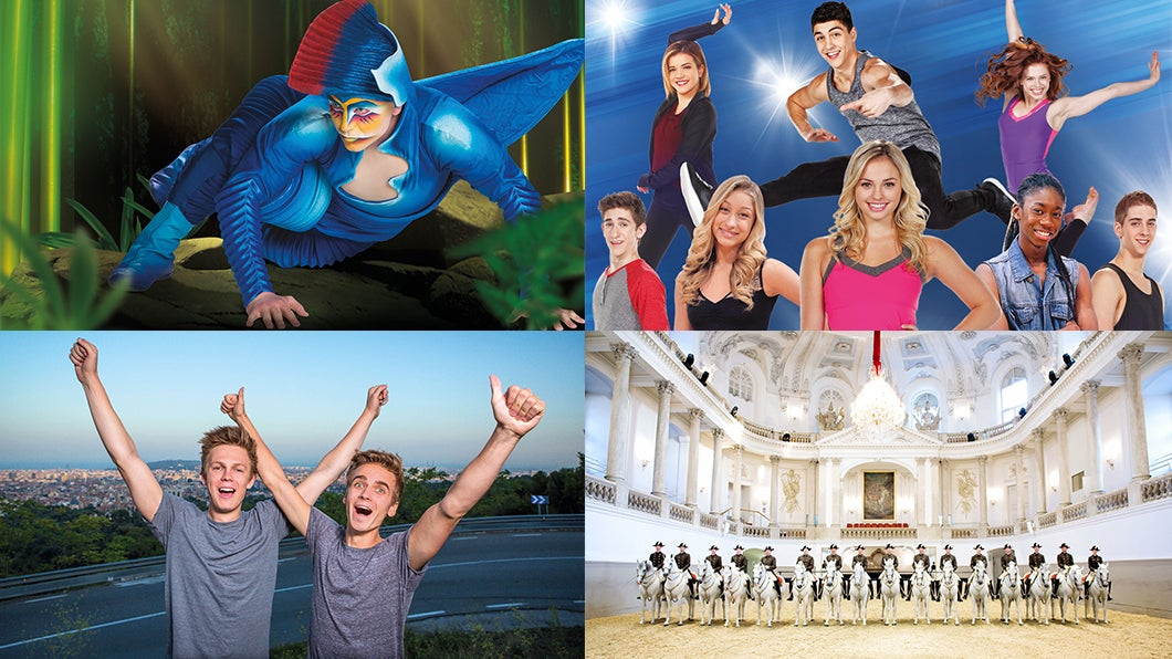 Four Family-Friendly Shows Not To Be Missed!