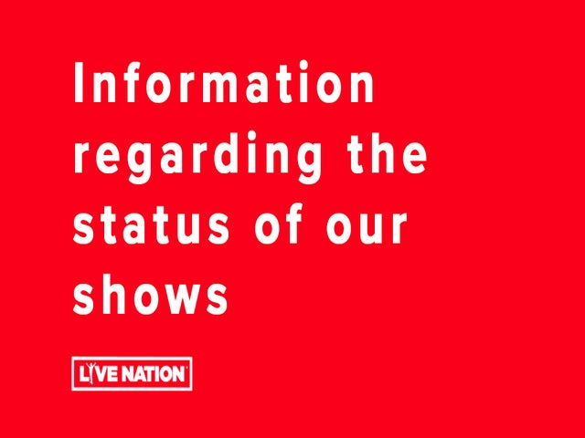 Information regarding the status of our shows
