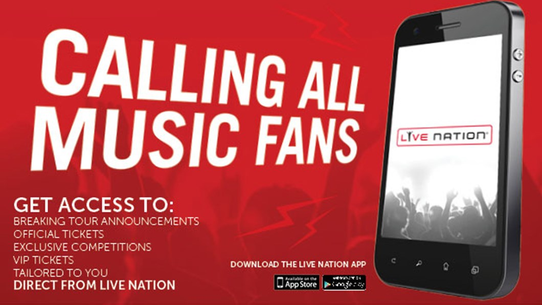 Have You Downloaded The Live Nation UK App Yet? | Live Nation TV