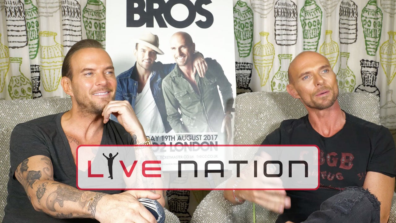 Watch Matt & Luke Goss Discuss Their Big Reunion!