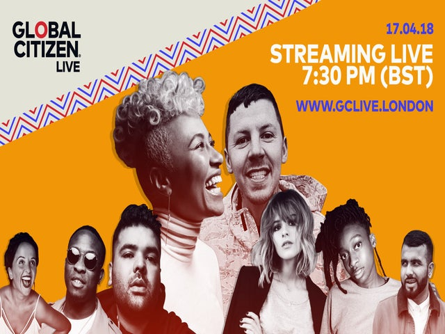 EXCLUSIVE: Se Emeli Sandé, Professor Green, Naughty Boy og mange flere Streamed Live fra Global Citizen Live i London