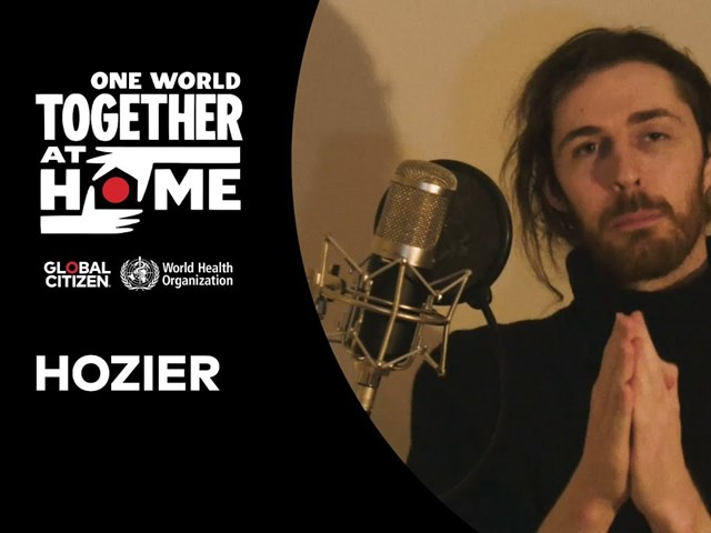 Hozier Performs 'Take Me To Church' for One World: Together At Home