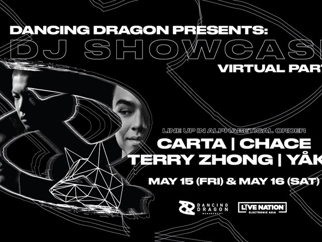 DANCING DRAGON PRESENTS: DJ SHOWCASE VIRTUAL PARTY