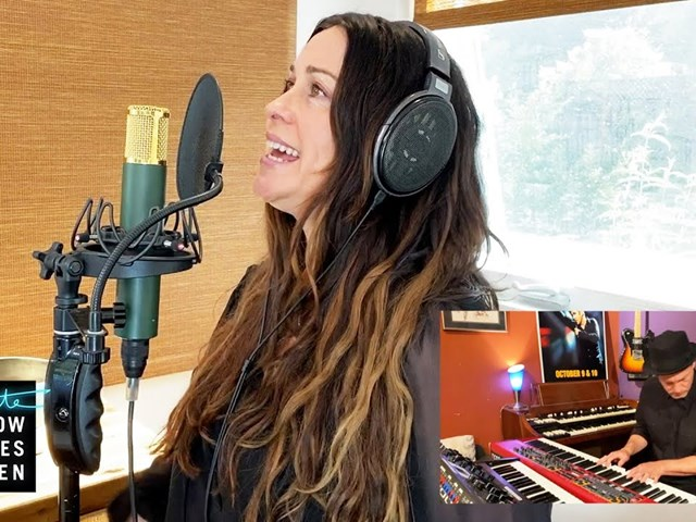 Alanis Morissette Performs 'Diagnosis' on the Late Late Show