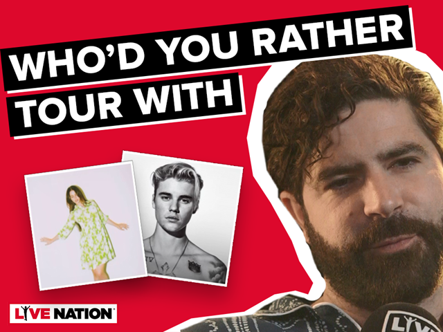 Yannis, who'd you rather tour with?