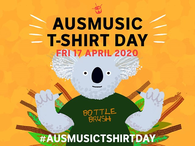 Supporting the Australian Music Industry with #AusmusicTShirtDay