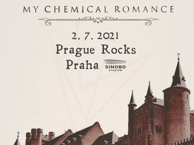MY CHEMICAL ROMANCE - new date of Prague's show is 2. 7. 2021