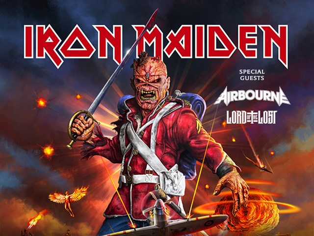 IRON MAIDEN - new date for Prague is 15/6/2021