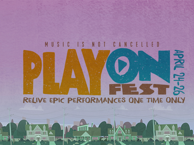 PlayOn Fest: A Virtual Festival Featuring Green Day, Coldplay, Twenty One Pilots & More!